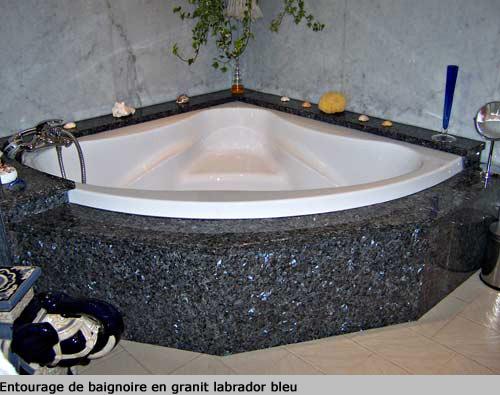 Plan De Travail Labrador Bleu : Granit co creation de salles bains quartz